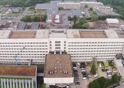 Luchtfoto UZ Brussel 2
